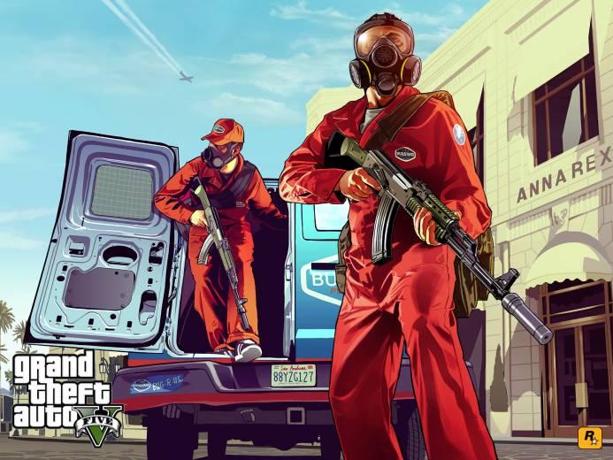 Релиз GTA V для PC отложен на 14 апреля 2015