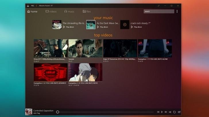 Плеер VLC для Windows 10 (обновленный)