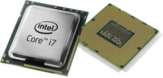Фотография процессоров