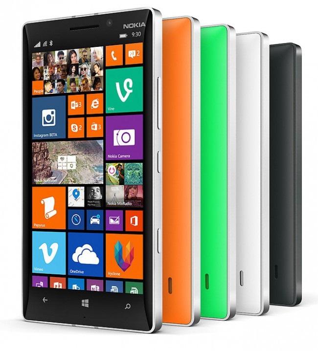 Microsoft Lumia 940 получит сканер оболочки глаза и док-станцию