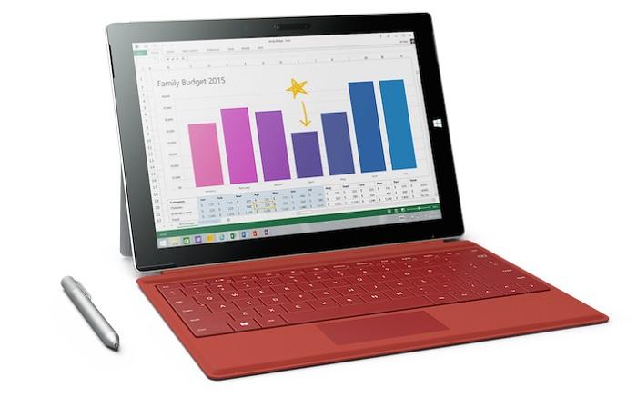 Surface 3 – новый планшет от Microsoft